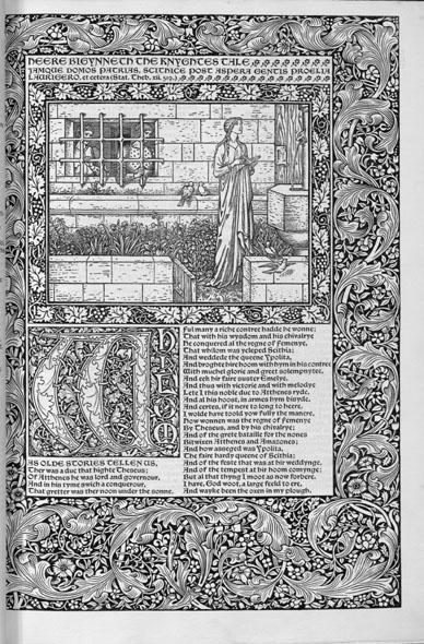 Kelmscott's Chaucer