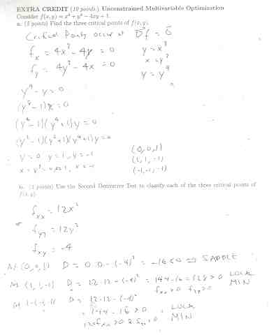 Math 212: Exams